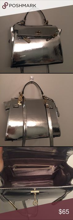 small silver kelly bag Used really clean. It is unique! Bags Mini Bags