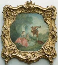 Nicolas LANCRET Paris, 1690 - Paris, 1743  La leçon de musique  1743 ?  H…