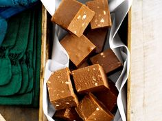 Easy chocolate fudge, chocolate recipe, brought to you by Woman's Day