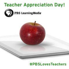 Celebrating Teacher Appreciation Day!