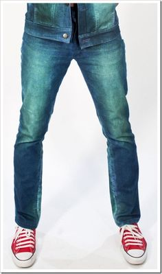 In the last few years , when denim creators were unleashing their creativity with a vehemence on the indigo denims worldwide and bringing out rainbow colors, digital prints, visual aesthetics enhanced with washing treatments , l Visual Aesthetics, Double Denim, Denim Branding, Men's Style, Peacock, Indigo, Skinny Jeans, Mens Fashion, Collections