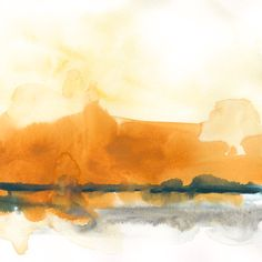 Landscapes Painting - Mesa Skyline II by June Erica Vess