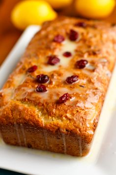 Cranberry Lemon Brea