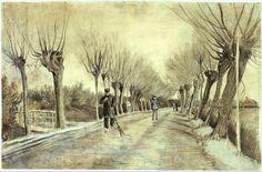 Vincent van Gogh (Dutch, 1853–1890) | Road in Etten | 1881