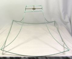 Lamp shade wire frame vintage antique for floor lamp very huge lamp shade wire frame for table floor pendant lamp chinese pagoda square bell greentooth Gallery