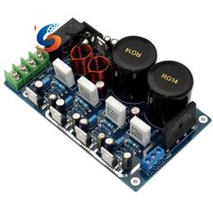 Power Amplifier Board LM1875 Paralleling 2.0 50W50W Audio AMP for DIY