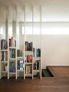 Ótima ideia para quem precisa de mais espaço para os livros :)