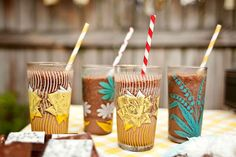 frozen hot chocolate - try with vodka or whisky