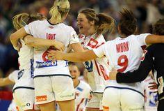 The Norway Women's National Handball Team win the 2014 European Championship