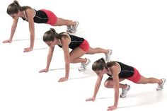 How to do Mountain Climbers #plyometrics