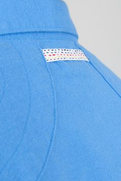 Flannel Shirt - Cornfield Blue   Shirting