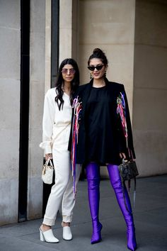 Street Style at Paris Couture Fashion Week Fall 2017