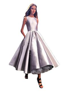 ESY Women's Jewel Sleeveless Ball Gown Tea Length Taffeta Runway Evening Dress Silver US10 ESY http://www.amazon.com/dp/B00XTXTJ2K/ref=cm_sw_r_pi_dp_wve3wb0JGSPP6