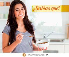 #SabíasQue lo ideal es que las personas desayunen 1 hora después de levantarse, esto hará que tengas mayor energía.