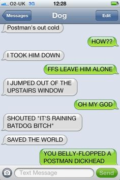 Texts From Dog.. I can't stop. It's too funny.