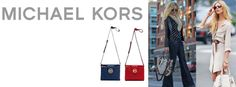Michael Kors handbags in store including the Hamilton bag and crossbody bags. Perfect summer colors and styles!