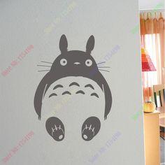 Pas cher Nouveau dessin animé japonais Totoro Chinchilla décalcomanies stickers…