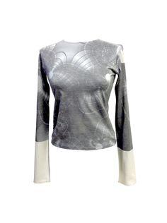 Digital Printed Algorithms Minimal Tshirt Lola Darling ARTWORK DRESS by A. LUGLI, One of a Kind , Exclusive Luxury Handmade in Italy di loladarlingirl su Etsy