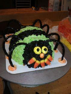 3D spider cake