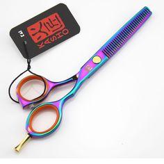 Kasho Hair Scissors 5.5 inch 6 Inch Professional hairdresser's scissors Hair Thinning Shears Barber Scissors Hairdresser Tool