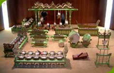 Gamelan orchestra  Gamelan music is the most popular and important kind in Indonesia. Gamelan orchestras accompany all dances and dramas. Gamel means 'to hammer', and most of the instruments of a gamelan orchestra are struck with wooden mallets, padded sticks or hammers.The conductor of a gamelan orchestra is a drummer who is part of the orchestra.