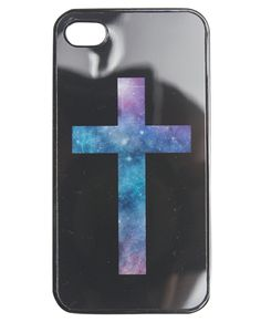 Galaxy Cross Phone Case from Wet Seal