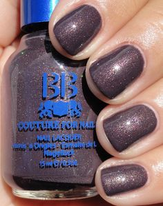 """BB Couture in Puce (Fall 2012 """"Shades of Grey"""" collection, $10.95)."""