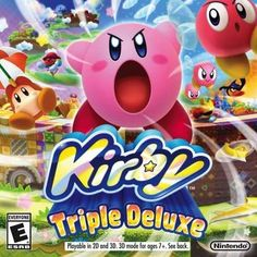 Pink? Check. Puffy? Check. Powerful? You have no idea. Devour trees, obstacles, and huge chunks of stages with Kirby's Hypernova ability and inhale enemies to copy epic new moves like Archer.