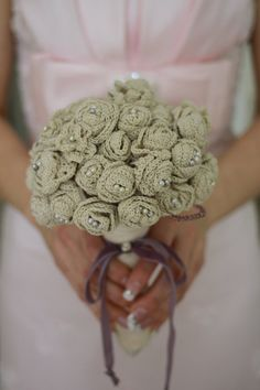 Vintage Beauty Ivory Bridal Bouquet by BoleynsAccessories on Etsy, $950.00