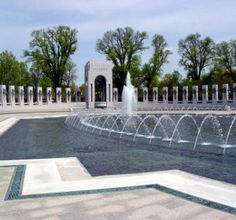 National World War II Memorial on the National Mall