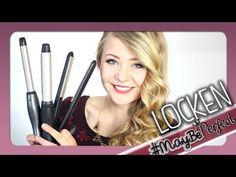LOCKEN MACHEN 1.0 - Lockenstab & Glätteisen | #MayBePerfect - YouTube