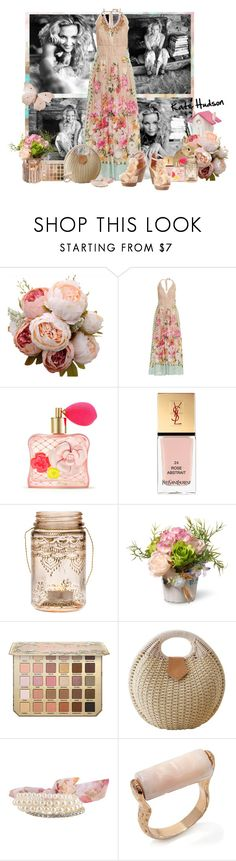 """""""Kate Hudson"""" by frane-x ❤ liked on Polyvore featuring Emamò, Victoria's Secret, Yves Saint Laurent, Cultural Intrigue, National Tree Company, Forever 21 and Brigitte Bailey"""