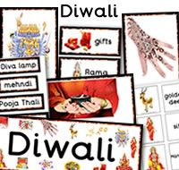 Diwali Teaching Resources. Lots of colourful resources to help teach about Diwali.