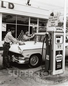 Gas Station Attendant Stock Photography Images From SuperStock