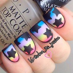 45 latest and hottest matte nail art designs ideas 2019 26 – JANDAJOSS. Nails Opi, Get Nails, Fancy Nails, Matte Nails, Love Nails, How To Do Nails, Pretty Nails, Nail Bling, Crazy Nails
