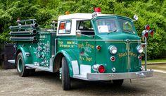 1954 American LaFrance pumper truck