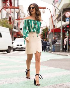Women's Fashion: #DateNight @silviabraz via Instagram: @raizzoficial SS'18