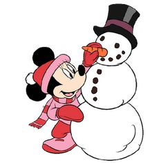 Mickey And Minnie Christmas Clipart - Clipart Suggest Christmas Yard Art, Mickey Mouse Christmas, Christmas Cartoons, Mickey Mouse And Friends, Christmas Clipart, Disney Christmas, Minnie Mouse, Winter Clipart, Xmas Clip Art