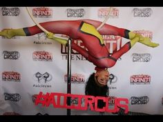 Acrobatica Infiniti Circus at Chicago Pop Culture Con 2016 - Cosplay Radio interview - YouTube