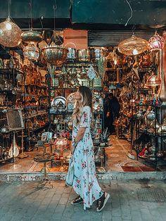 Souk Marrakech - Arabic inspiration - boho dress - travel inspiration