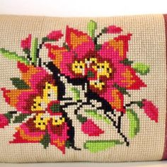 needlepoint pillow case pattern - Google Search