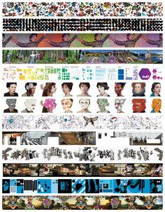 Prada Wallpapers by 2x4 , via Behance
