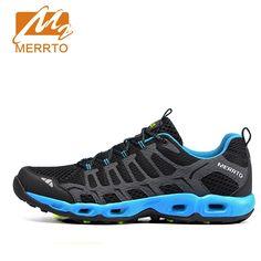 46.00$  Buy now - http://ali90k.worldwells.pw/go.php?t=32715597751 - 2017 Merrto Men Trail Running Shoes Lightweight Runner Sports Shoes Mesh For Men Free Shipping MT18597 46.00$