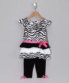 Cute Top with leggings
