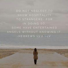 Hebrews 13 2