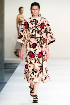 Marni Spring 2015. BAZAAR is bringing you the best of the best from Milan Fashion Week here.