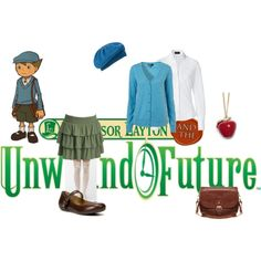 Caroline's Professor Layton creation