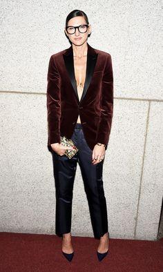 Jenna Lyons Velvet Blazer