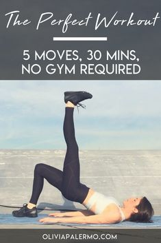 Get your heart pumping, even when time is short, with this super efficient workout.