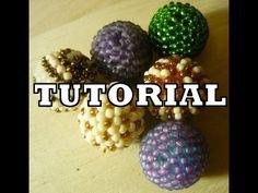 Beaded Balls - Kulki koralikowe [TUTORIAL] | Qrkoko.pl. Link download: http://www.getlinkyoutube.com/watch?v=3OoufmxcJMY